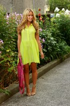 chartreuse bright beginning boutique dress