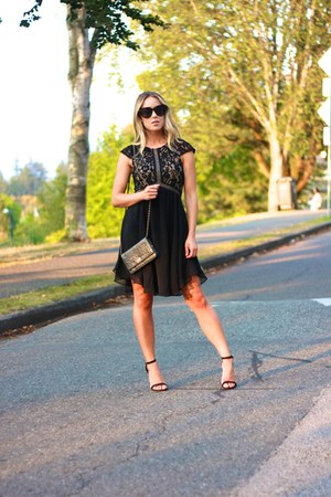 black black lulus dress