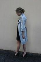 black lace threadcase dress