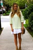 white ruffle Billabong dress