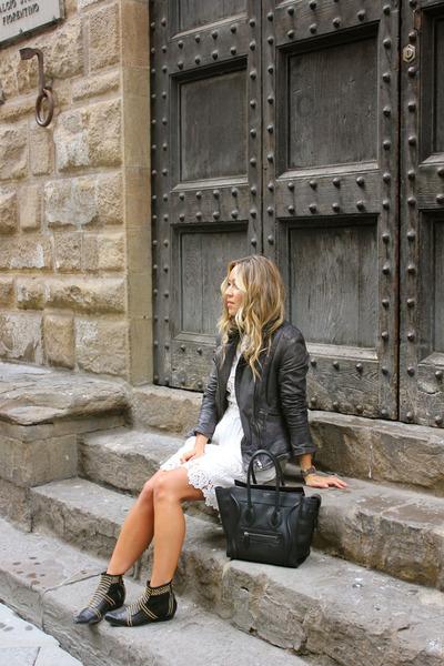 black leather Muubaa jacket