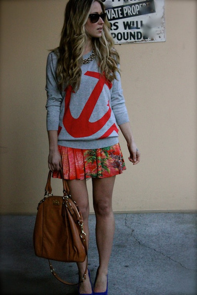 red anchor Joie sweater