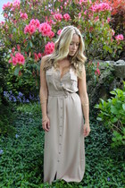 neutral maxi modcloth dress