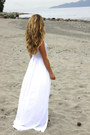 Ivory-maxi-bebe-dress