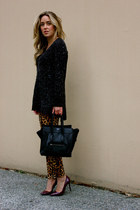 black Celine bag