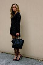 black Celine bag