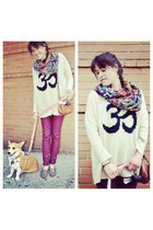 cream MinkPink sweater