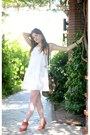 White-cynthia-rowley-dress