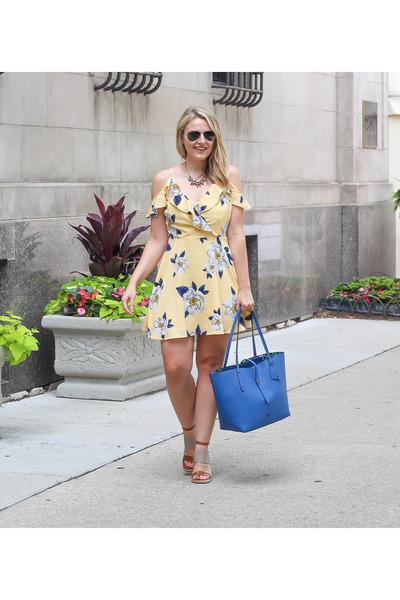 joa dress - coach bag