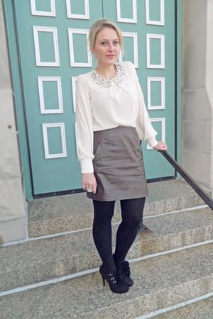 Dorothy Perkins blouse - Forever 21 skirt