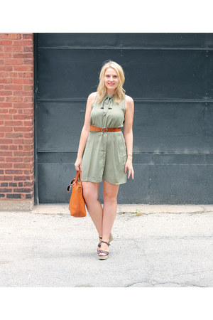 asos dress - faux suede asos belt