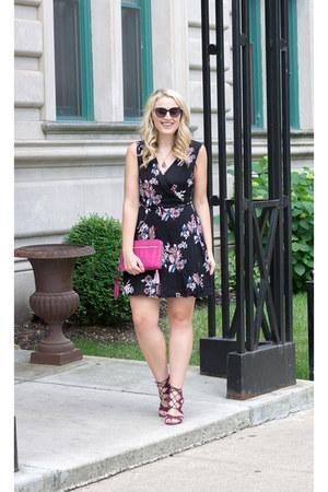 Lulus dress - sam edelman sandals