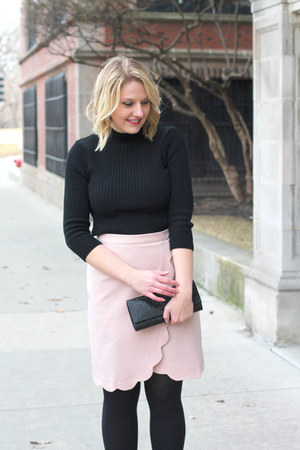 asos skirt - asos sweater