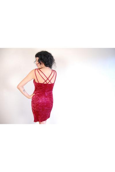 red velvet CarbonCopyClothingcom dress