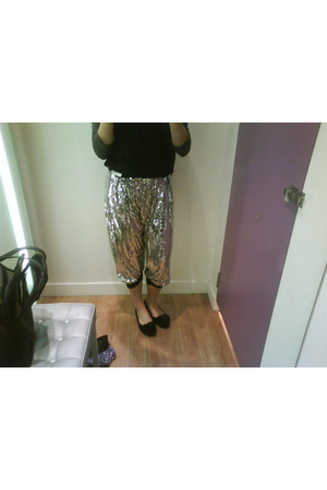 Forever 21 top - Topshop pants - Zara shoes