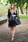 Zara-dress-orsay-bag