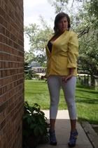 Express pants - Secondhand blazer - Lane Bryant bra - Urbanogcom shoes - Secondh