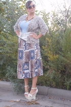 Secondhand skirt - Secondhand sweater