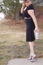 Conversation Pieces dress - Ebay glasses - Style Smith on Etsy hat - Dolce Vita