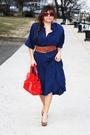 Blue-vintage-dress-red-nine-west-purse-steve-madden-shoes-red-forever-21-s