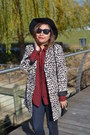 Navy-two-tone-3x1-denim-jeans-brown-leopard-print-h-m-jacket