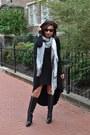 Rebecca-sanver-boots-forever-21-dress-karen-millen-scarf
