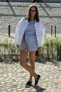 White-denim-jacket-reserved-jacket-navy-quilted-bag-bershka-bag