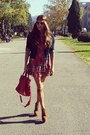 Aldo-shoes-denny-rose-dress-tommy-hilfiger-jacket-balenciaga-bag