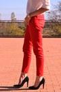 Zara-pants-h-m-blouse-mango-heels