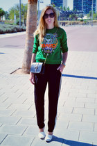 Kenzo jumper - Pull and Bear pants - choiescom heels