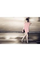 Queens Wardrobe dress - Zara sandals