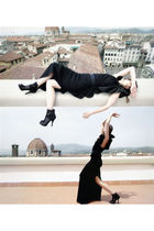 black lanvin dress - black Dolce&Gabbana boots