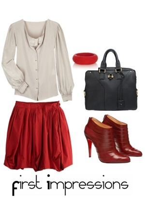 31 phillip lim blouse - acne shirt - Christian Louboutin boots - Oscar de la Ren