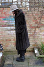 Black-leather-vagabond-boots-dark-brown-faux-fur-charity-shop-coat