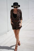 brown adrienne vittadini cardigan - brown Cynthia Vincent Target shoes