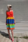 Red-vintage-sears-dress-black-forever-21-sunglasses-red-c-ronson-shoes