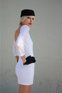 White-vintage-from-castaway-vintage-dress-black-h-m-hat-black-vintage-gloves