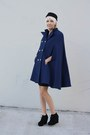 Navy-zim-stra-coat-black-h-m-hat-black-forever-21-shoes