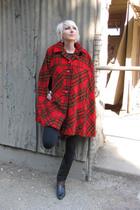 red vintage from Castaway Vintage jacket