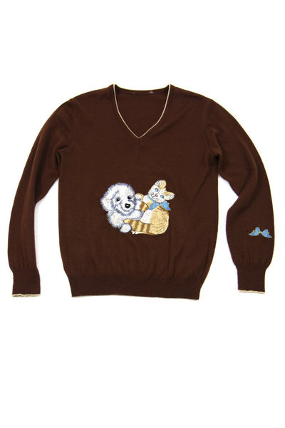 castle in air sweater