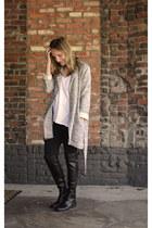 Baukjen coat - stuart weitzman boots - madewell pants