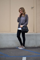 Joie sweater - cuore and pelle bag - ASH sneakers