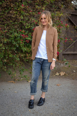 ASH shoes - citizens of humanity jeans - JCrew blazer - Sundry shirt