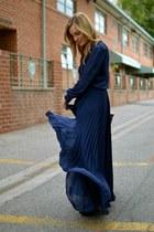blue Parker dress