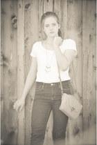 H&M jeans - Target purse - H&M t-shirt