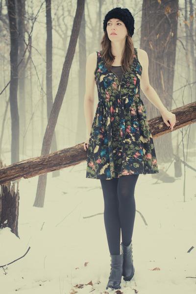 kensie dress - miz mooz boots