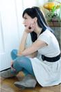 Vintage-ring-target-shoes-lauren-conrad-dress