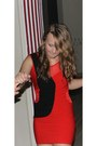 Red-joyz-shoes-red-new-yorker-dress-gold-h-m-ring