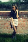 New-yorker-t-shirt-bershka-skirt