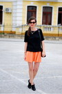 Black-zara-blouse-black-zara-flats